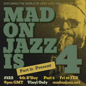 MADONJAZZ #122: Deep Jazz, Afro & Eastern Jazz  Sounds