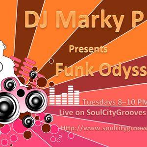 Episode 41 - DJ Marky P - Funk Odyssey - FunkALicious on SoulCityGrooves Radio September  2011