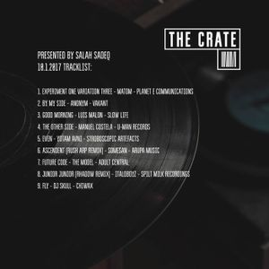 The Crate with Salah Sadeq 10.1.2017