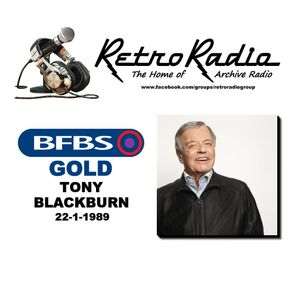 TONY BLACKBURN - BFBS GOLD - 22-1-1989