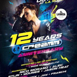 dj Biool @ La Rocca - 12Y Creamm 10-10-2015
