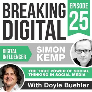 Simon Kemp Understands And Delivers The True Power of Social Thinking In Social Media For Brands Aro