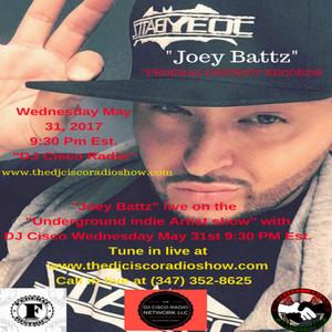 "'Federal Districts's ""Joey Battz"" Live on the DJ Cisco Radio Show"