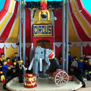 an Hour at the Circus with friends