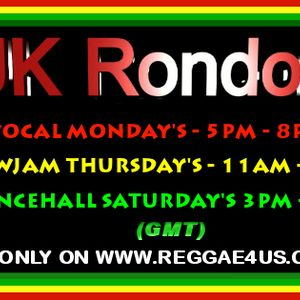 12 MARCH MONDAY VOCAL SHOW WITH UK RONDON THE RE-RUN ENJOY THE SELECTIONS