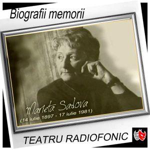 Mari actori romani - MARIETA SADOVA - (Născută: 14 iulie 1897 -  Decedată: 17 iulie 1981)
