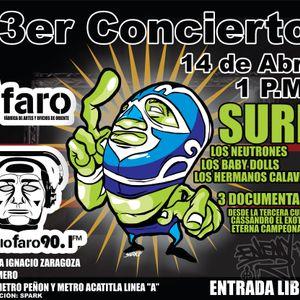 Tianguis Salado Programa transmitido el día 28 03 2012 por Radio Faro 90.1 fm!!