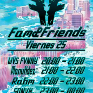 MANU HDEZ @ FAM & FRIENDS, FRIENDS STAGE (25 - 03 - 2016)