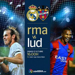 Liga : RMA 3 - 0 LEV   17/10/15