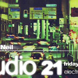 Marc O Neil - WEB-TV Show   STUDIO21 live electrosound.tv 03 August 2012