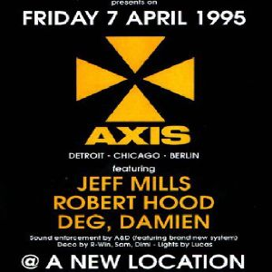 JEFF MILLS @ The Rave Explosion @ PK Studios (Brussel):07-04-1995