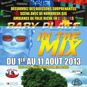 Chris Plowman Live @ Baby Plage in the Mix, Geneva, 10.08.2013
