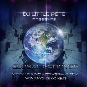 9-12-2013 Dj Littlepete´s GLOBAL GROOVES sessions @ RadioactiveFm