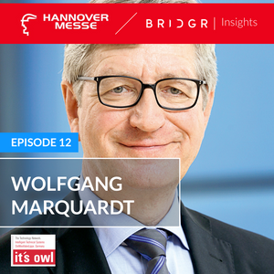 Wolfgang Marquardt - it's owl   Hannover Messe 2019