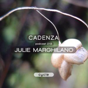 Cadenza Podcast | 213 - Julie Marghilano (Cycle)