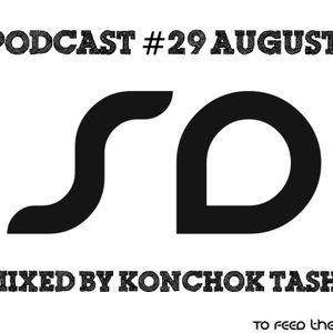 Podcast #29 SoundDesigners August mixed by Konchok Tashi