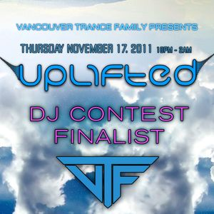 Gellert Horvath - UPLIFTED DJ Contest (Nov 17th)