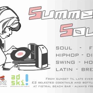 EatBeatz - Summer Soul Live @ Fistral Beach Bar Part 1 29=04=11