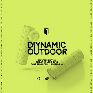 Kollektiv Turmstrasse - Live @ Diynamic Outdoor Parc del Forum, Off Week  (Barcelona, ES) - 15.06.18