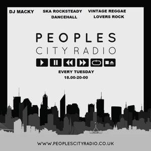 DJ MACKY SKA/REGGAE SHOW 22.3.16 PEOPLES CITY RADIO