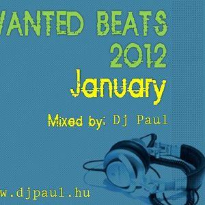 Wanted Beats 2012 january Mixed by Dj Paul (www.djpaul.hu)