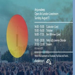 Yotto b2b Jeremy Olander at Anjunadeep Open Air London - 11.08.2019