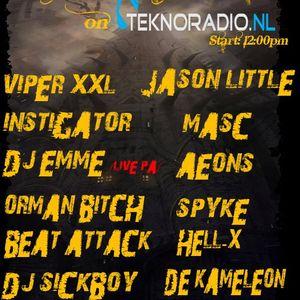 Masc @ GHB Spyke B-Day Celebration Teknoradio.nl (05-11-2011)
