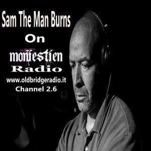 Sam The Man Burns on WMONIE Moniestien Radio.