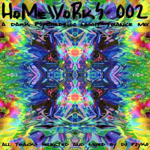Pzyko (dj-set) : HoMeWoRkS 002 (Winter 2004)