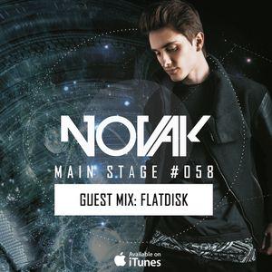 Novak – MAIN STAGE #058 (Flatdisk Guest mix)