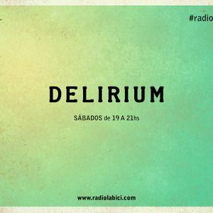Delirium 17 - 10 - 15 en Radio La Bici