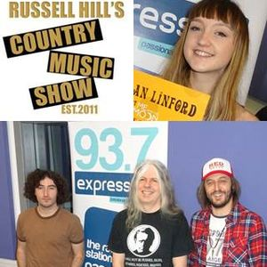 Russell Hill's Country Music Show feat. Felix Holt + The Steve Young Band + Megan Linford 22/10/17