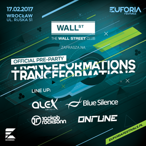 BLUE SILENCE live at TRANCEFORMATIONS PRE-PARTY Wall Street Wroclaw (2017-02-17)