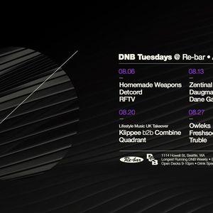 DGW - DNB Tuesdays Aug 2019