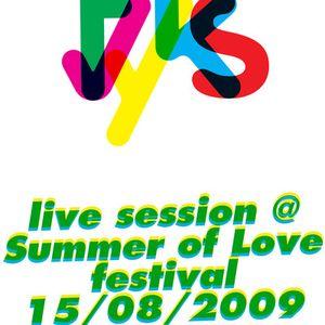 live @ Summer Of Love festival