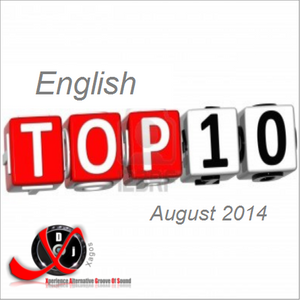 English Top 10 August 2014 by DjXagos
