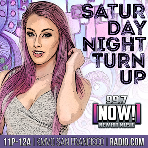 DJ Amy Robbins | April 2017 | 99.7 NOW's Saturday Night TURN UP!