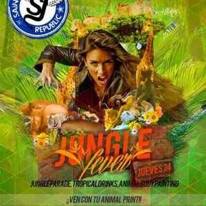 DJ N!TRO Live @ Saint Jueves Republic, Jungle Fever (Warm Up) (24.10.2013)