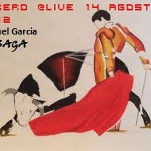 TORERO @LIVE 11 Agost 2012 Samuel Garcia a.k.a DJ SAGA