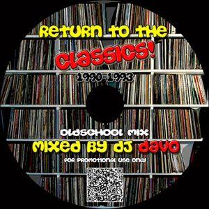DJ Davo - Return To The Oldschool Classics