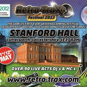 Retro Trax 2013. Stanford Hall. Dj Sense. House Set