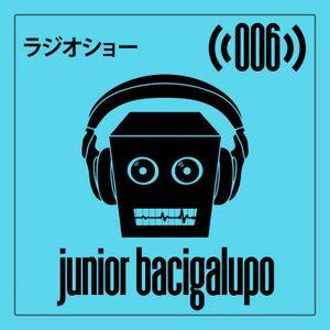 Robot Groove Radio Show 006 - Junior Bacigalupo (September 2017)