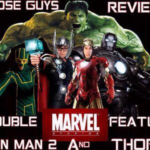 Iron Man 2 & Thor Review!
