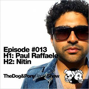 The Dog & Pony Radio Show #013: Guest Nitin