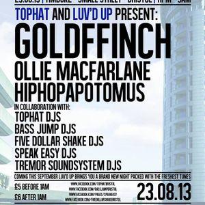 Live at Luv'd Up - Timbuk2, Bristol, 23rd August 2013