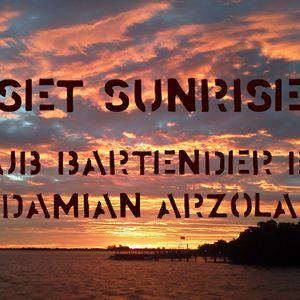 1 SET SUNRISE CLUB BARTENDER BY DAMIAN 2015