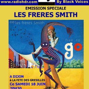 emission d'AFRO TALENTS consacré aux FRERES SMITH  Afro Beat  fever  sur RADIO HDR ROUEN