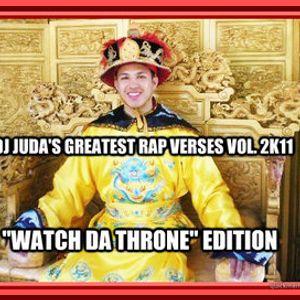 DJ JUDA'S 2K11 GREATEST RAP VERSES VOL. IV