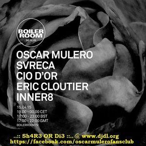 Oscar Mulero - Live At Boiler Room (Berlin) - 15-Apr-2015