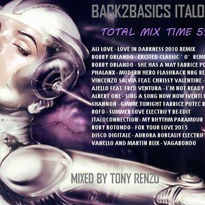 Back2Basic Italo Mix 12 Tony Renzo